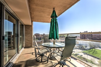 Our balconies offer stunning views of the Country Club Plaza.