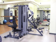 Equipment in our modern exercise room.